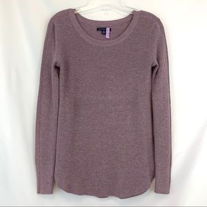 AE Purple Knit Sweater